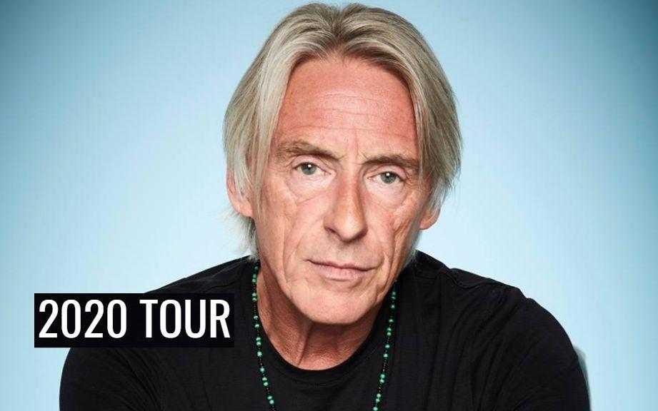 The Jam Paul Weller 2020 tour dates