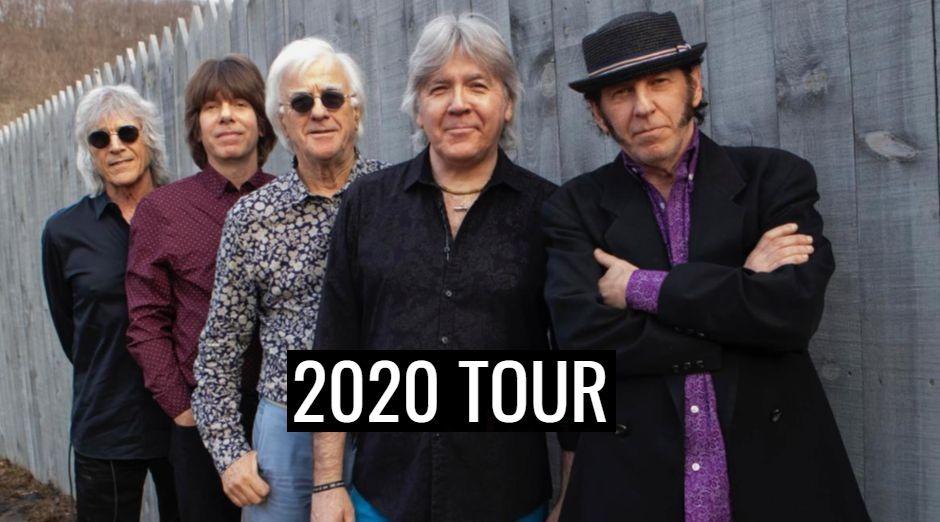 The Yardbirds 2020 tour dates
