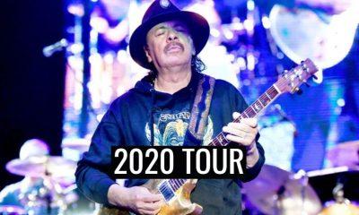 Carlos Santana 2020 tour dates