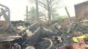 Churches set on fire Lousiana black metal