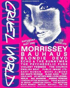 Cruel World festival lineup