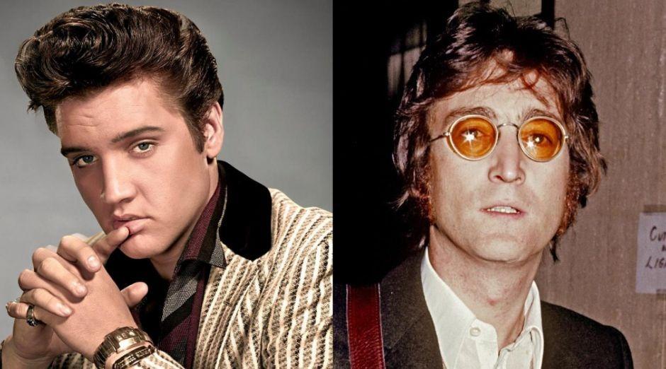 Elvis Presley John Lennon