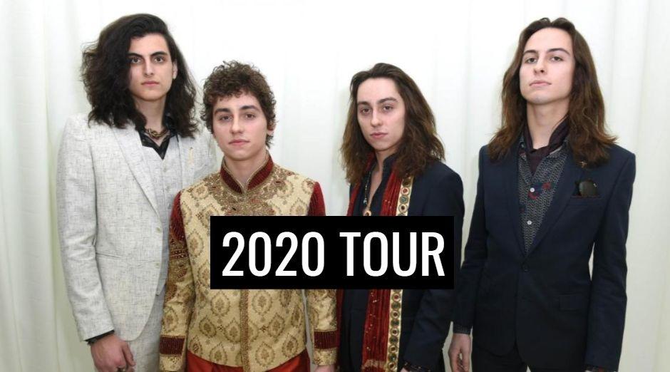 Greta Van Fleet 2020 tour dates