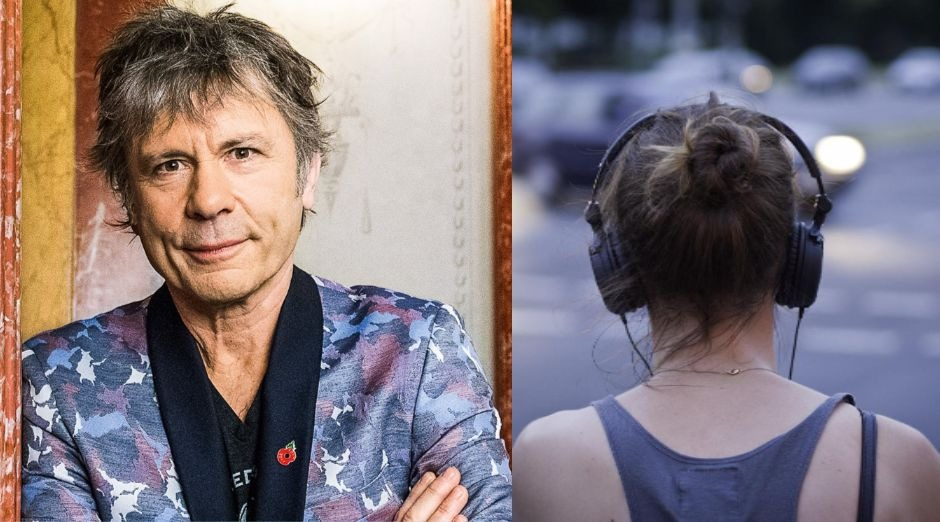 Iron Maiden Bruce Dickinson headphonesDickinson headphones