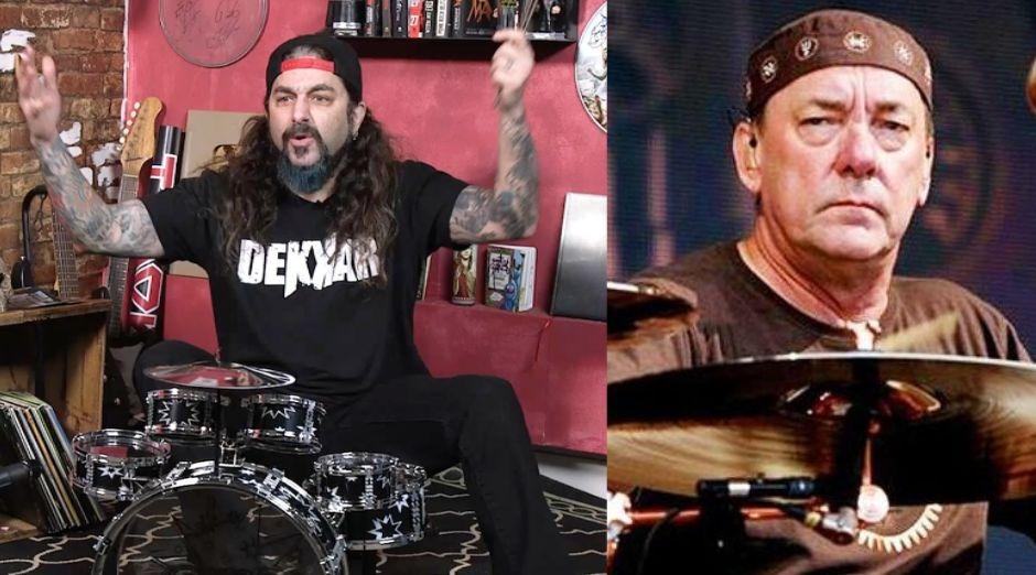 Mike Portnoy Neil Peart