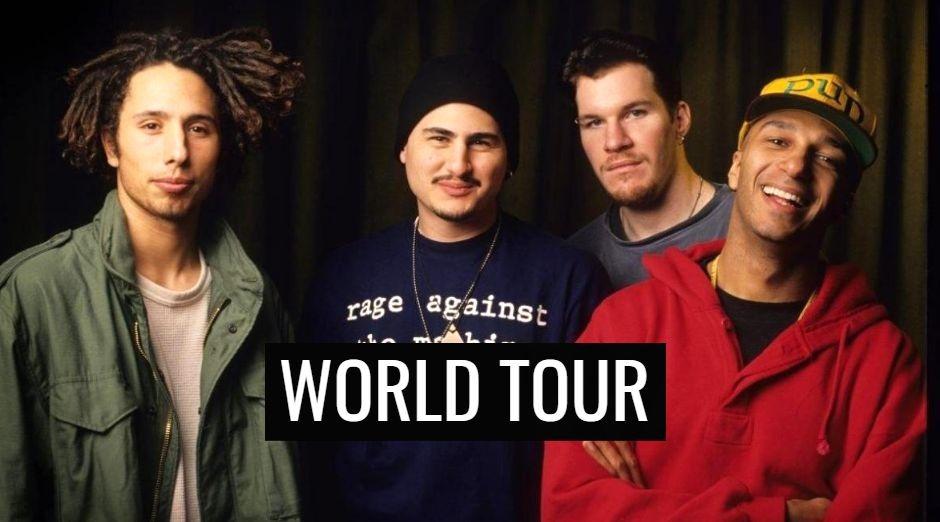Rage Against the Machine world tour