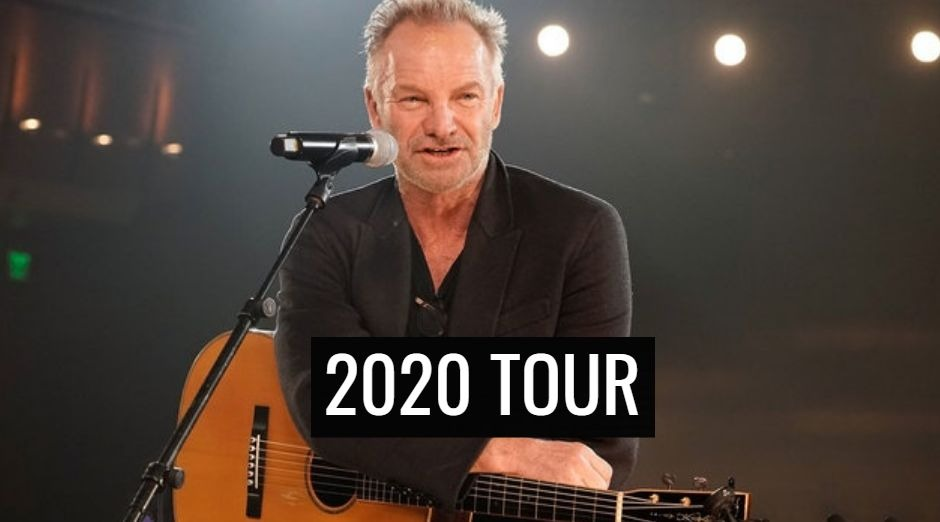 Sting 2020 tour dates