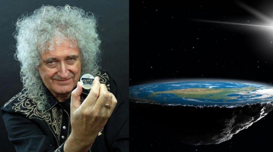 Brian May Flat Earth