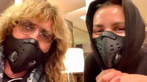 David Coverdale mask