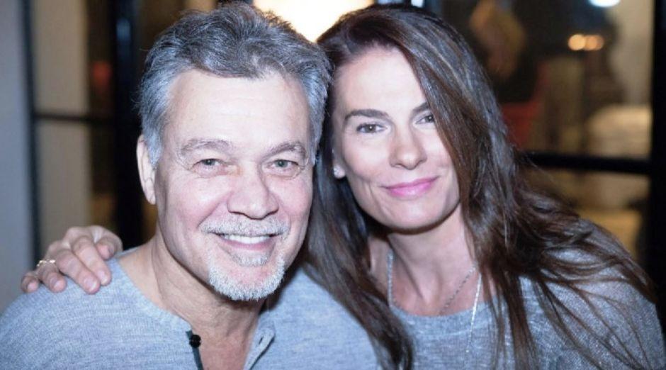Eddie Van Halen Janie Van Halen