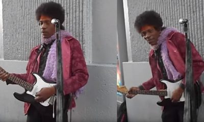 Jimi Hendrix Hollywood Boulevard