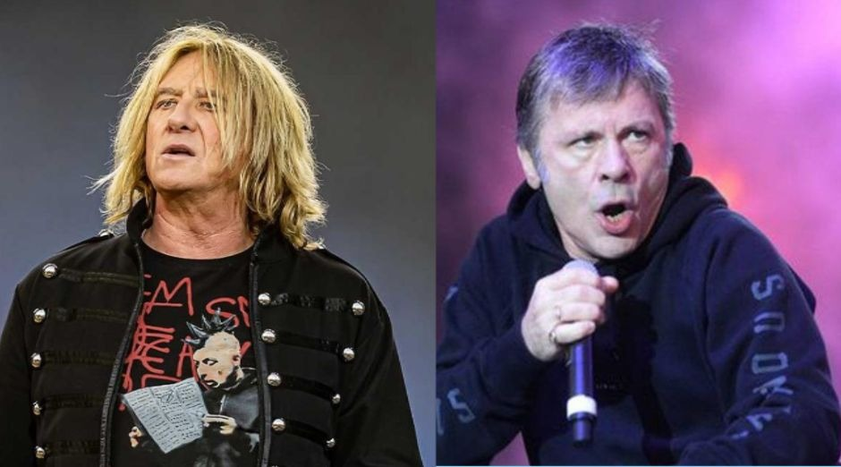 Joe Elliott Bruce Dickinson