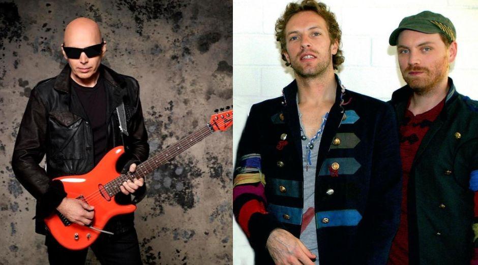 Joe Satriani Coldplay