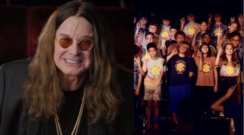 Ozzy Osbourne children choir