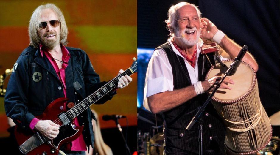 Rockstars Tom Petty Mick Fleetwood