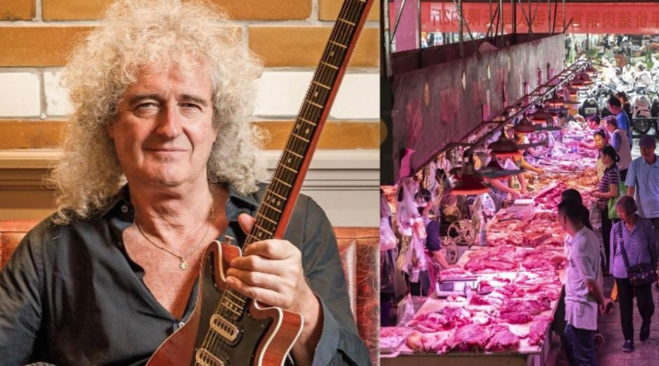 Brian May meat covid19