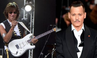 Jeff Beck Johnny Depp