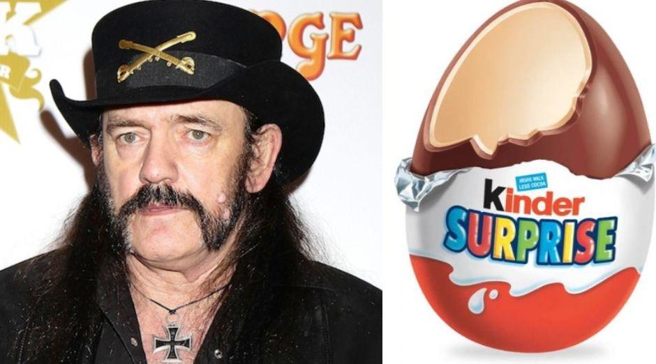 Lemmy Kilmister Kinder Egg