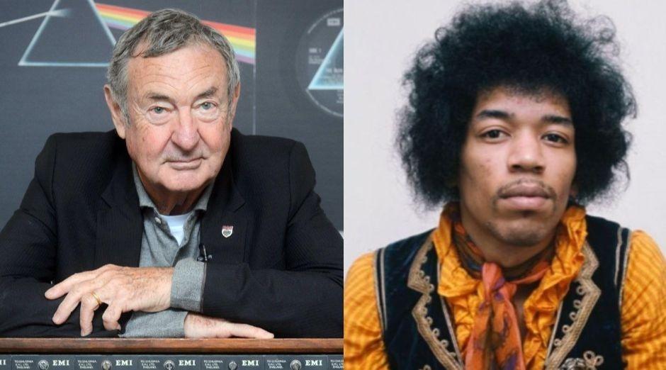 Nick Mason Jimi Hendrix