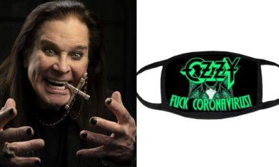 Ozzy Osbourne Covid 19 mask
