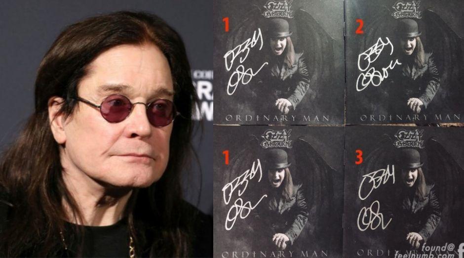 Ozzy Osbourne fake autographs