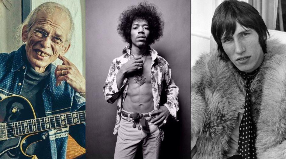 Steve Howe Jimi Hendrix Roger Waters