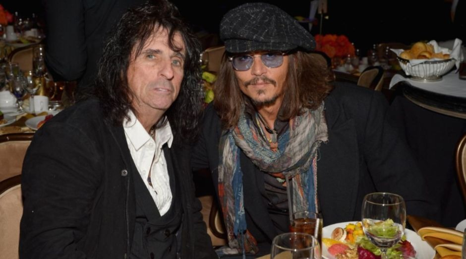 Johnny Depp Alice Cooper