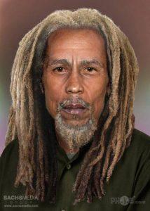 Rockstars Bob Marley nowadays