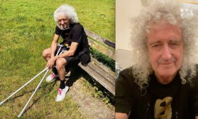 Brian May own funeral