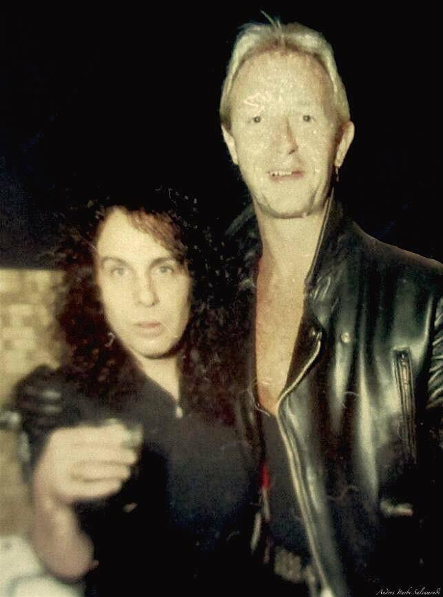 Dio and Rob Halford