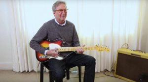 Eric Clapton guitar fire
