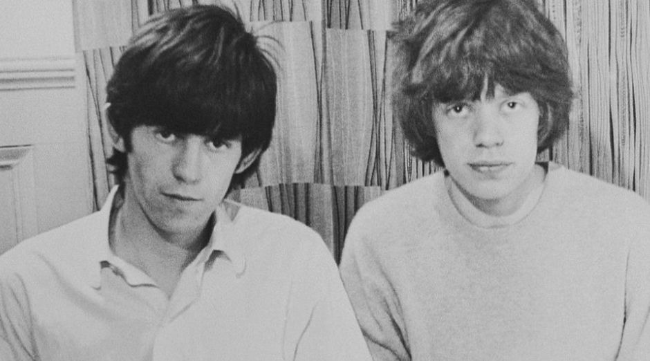 Keith Richards Mick Jagger young