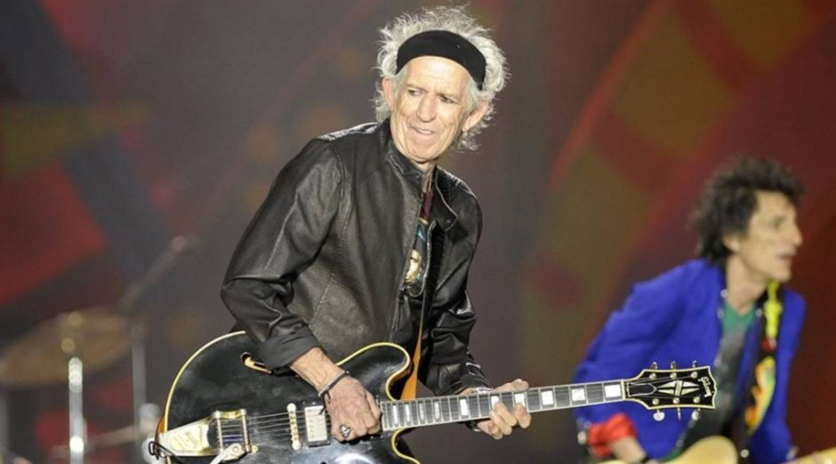 Keith Richards Satisfaction