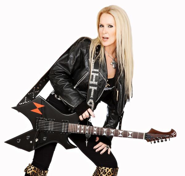 Lita Ford guitar
