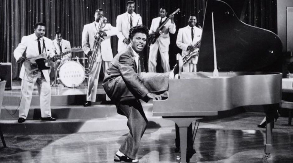 Little Richard piano legs