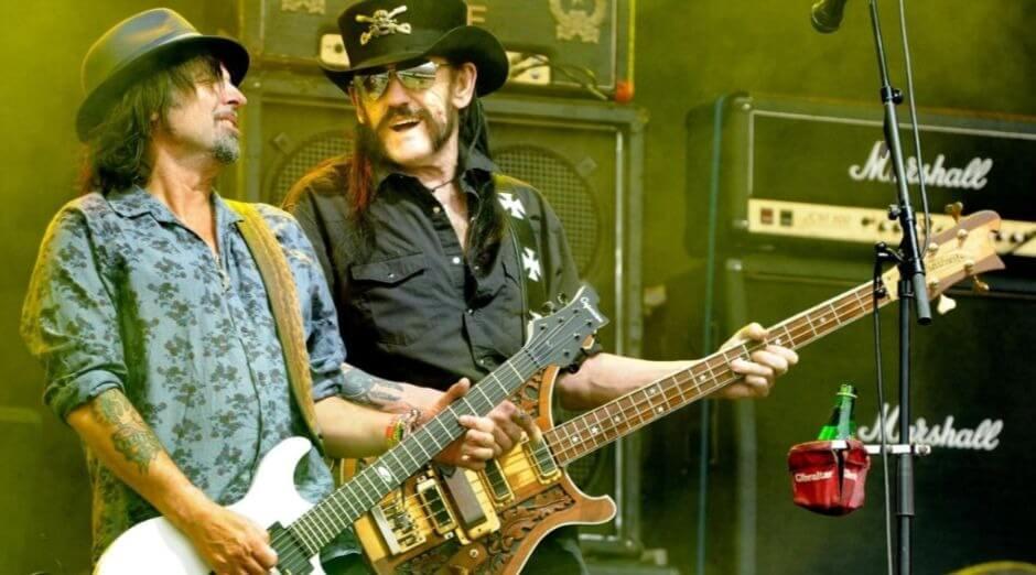 Phil Campbell Lemmy Kilmister