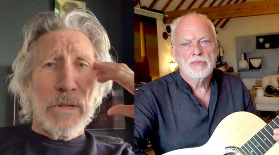 Roger Waters David Gilmour