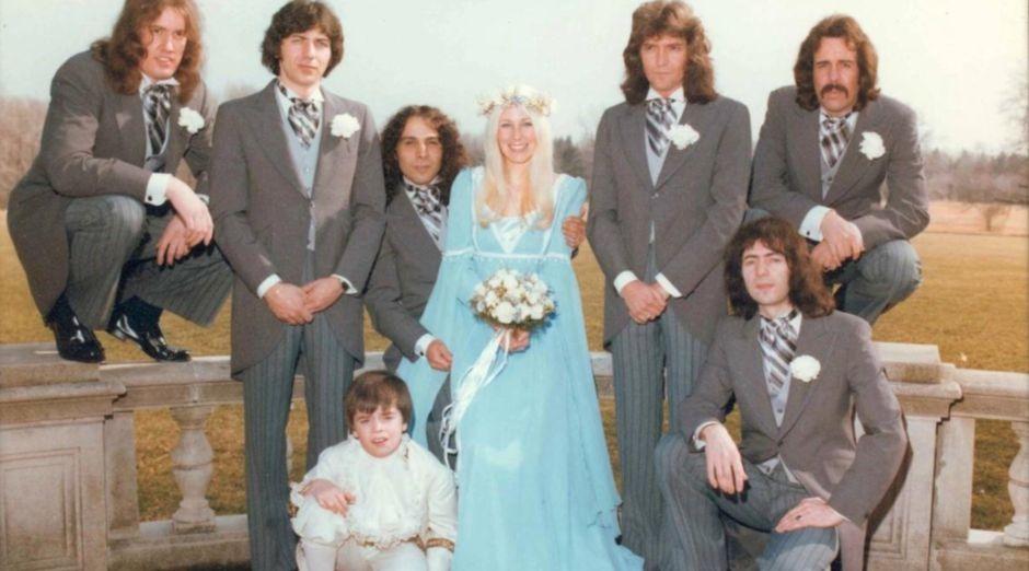 Ronnie James Dio wedding