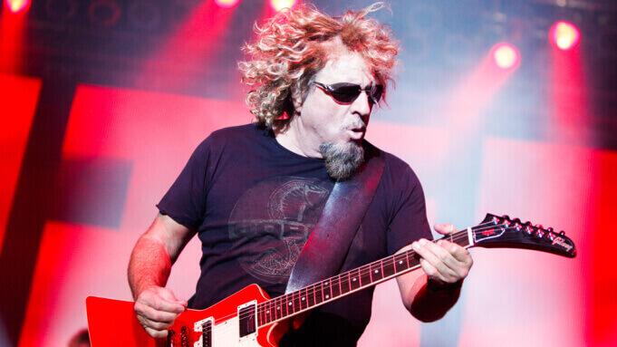 Sammy Hagar guitar
