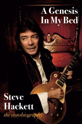 Steve Hackett autobiography cover