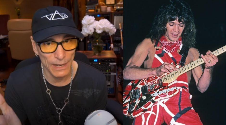 Steve Vai Eddie Van Halen