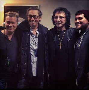 Van Halen Tony Iommi
