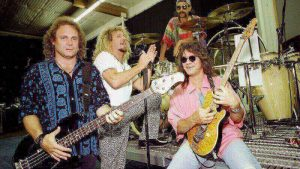 Van Halen with Sammy Hagar
