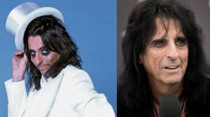 Alice Cooper now and then