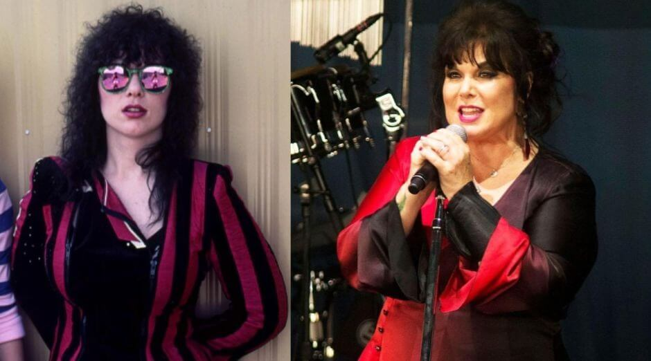 Ann Wilson now and then