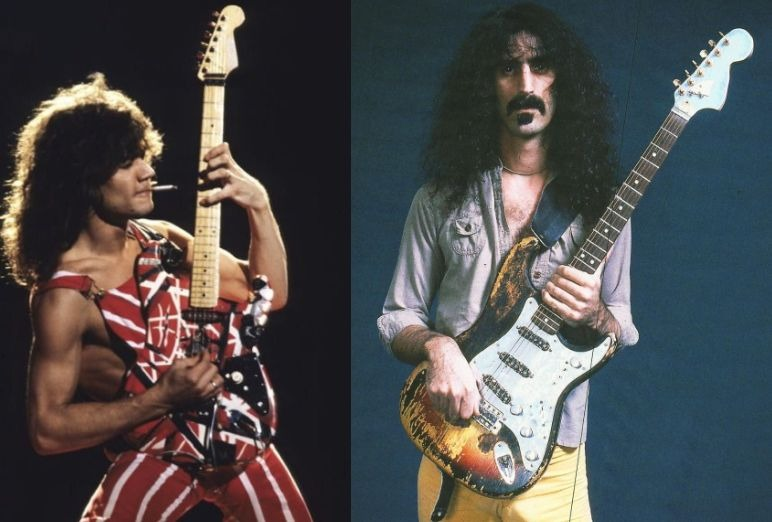 Frank Zappa Eddie Van Halen