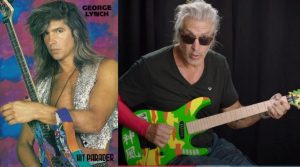 George Lynch now and then