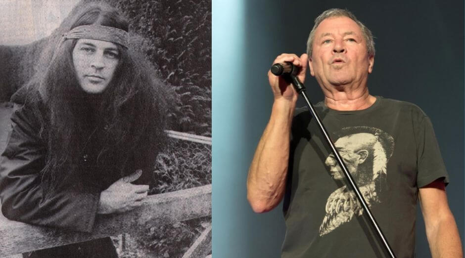 Ian Gillan now and then