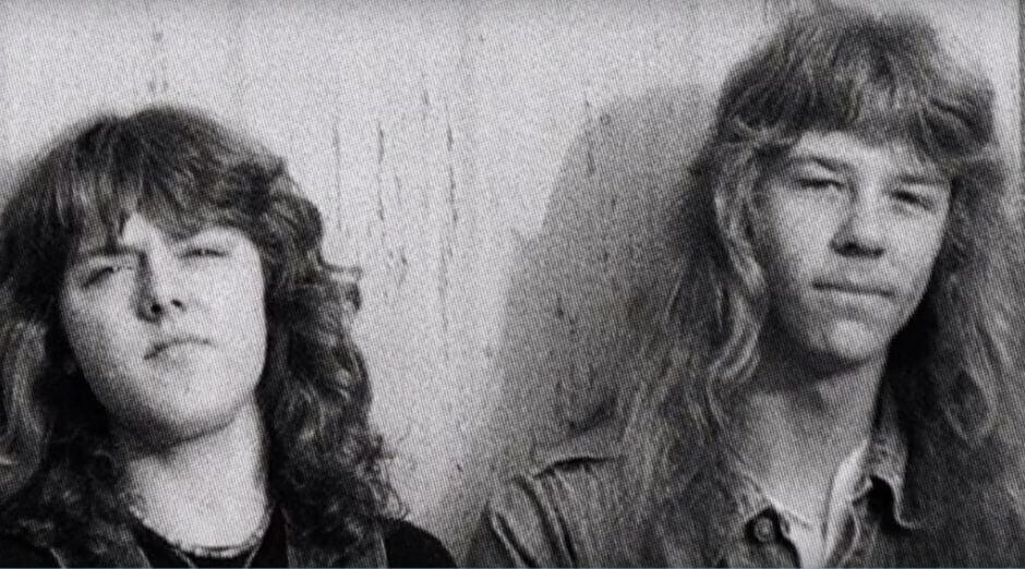 James Hetfield Lars Ulrich