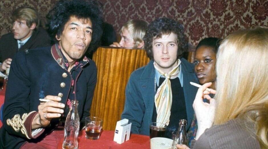 Jimi Hendrix favorite guitarists